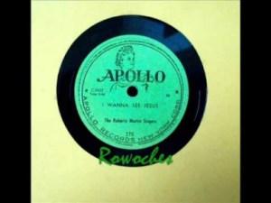 The Roberta Martin Singers - I Wanna See Jesus